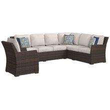 Sofa SEC/Chair w/CUSH