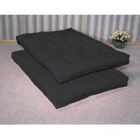 Black Premium Futon Pad Product Image
