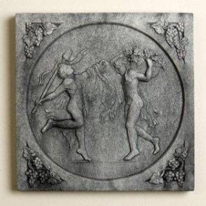Greek Dancers Plaques (Set of 3)
