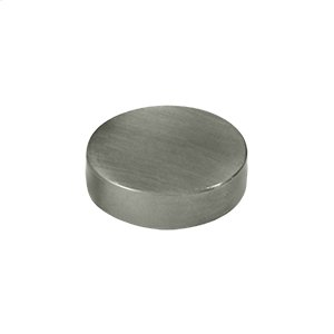 "Screw Cover, Round, Flat, 1"" Diam - Antique Nickel"