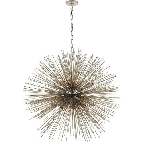 Visual Comfort KW5072PN Kelly Wearstler Strada 20 Light 40 inch Polished Nickel Pendant Ceiling Light, Kelly Wearstler, Large, Round