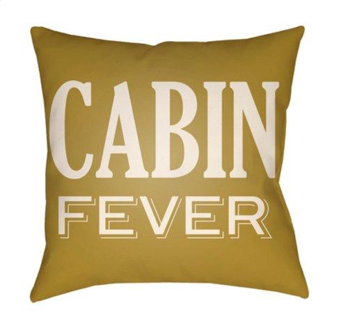 "Lodge Cabin LGCB-2031 18"" x 18"""
