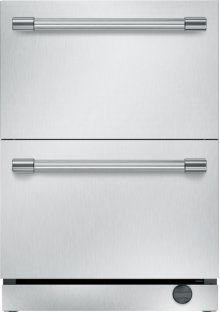 24 inch UNDER-COUNTER DOUBLE DRAWER REFRIGERATOR/FREEZER T24UC920DS