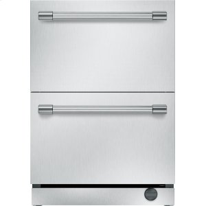 THERMADOR24 inch UNDER-COUNTER DOUBLE DRAWER REFRIGERATOR/FREEZER T24UC920DS