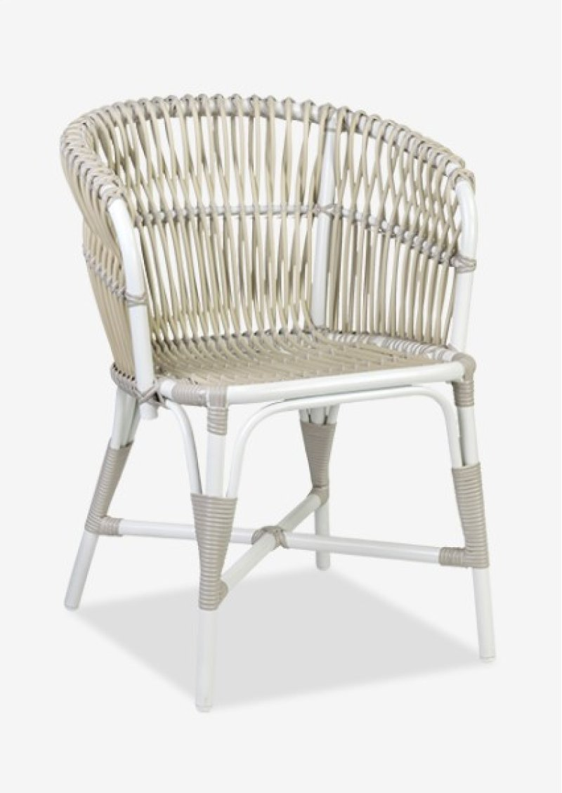 St Martin Outdoor Round Back Occasional Chair 23 5x22 5x31 25