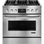 Pro-Style(R) Dual-Fuel Range with MultiMode(R) Convection, 36""