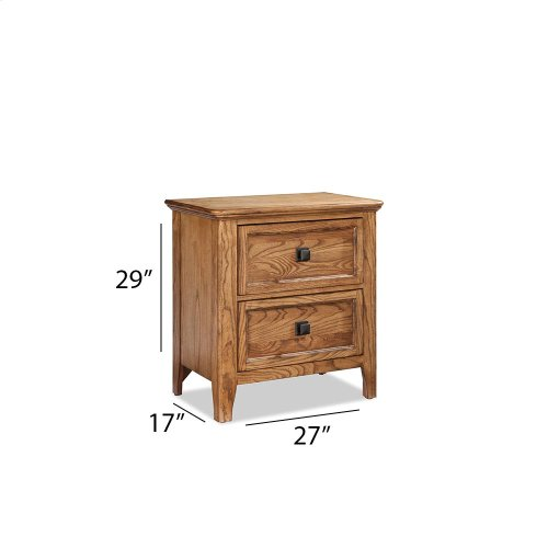 Bedroom - Alta Two Drawer Nightstand