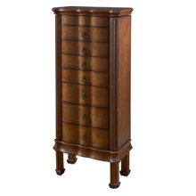 """Cherry"" 7-Drawer Jewelry Armoire"