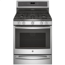 """30"""" Free-Standing Dual Fuel Convection Self-Cleaning Range with Warming Drawer"""