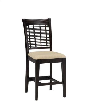 Bayberry Non-swivel Counter Stool - Dark Cherry