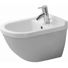 White Starck 3 Bidet Wall-mounted