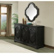 Corinne - Server - Ebonized Acacia Finish Product Image