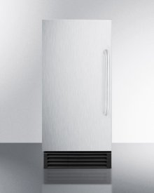 """15"""" Wide Built-in Undercounter Nsf-listed Clear Icemaker With Automatic Defrost and Internal Pump"""