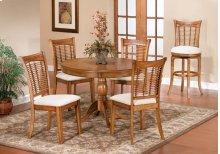 Bayberry 5pc Round Dining Set Oak