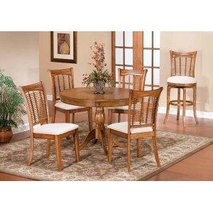 Hillsdale FurnitureBayberry 5pc Round Dining Set - Oak