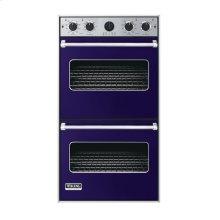 "Cobalt Blue 27"" Double Electric Premiere Oven - VEDO (27"" Double Electric Premiere Oven)"