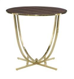 Jet Set Round End Table
