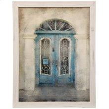 Textured Framed Print