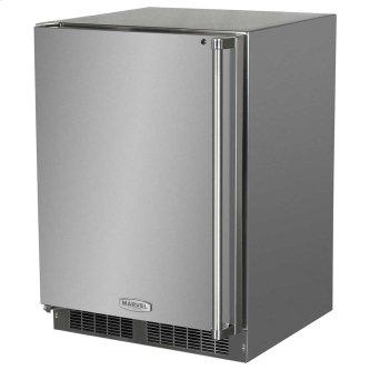 24-In Outdoor Built-In All Refrigerator With Maxstore Bin with Door Swing - Left