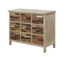 Emerald Home Pablo Pinewood Chest With 9 Multi-colored Drawers-ac313-09