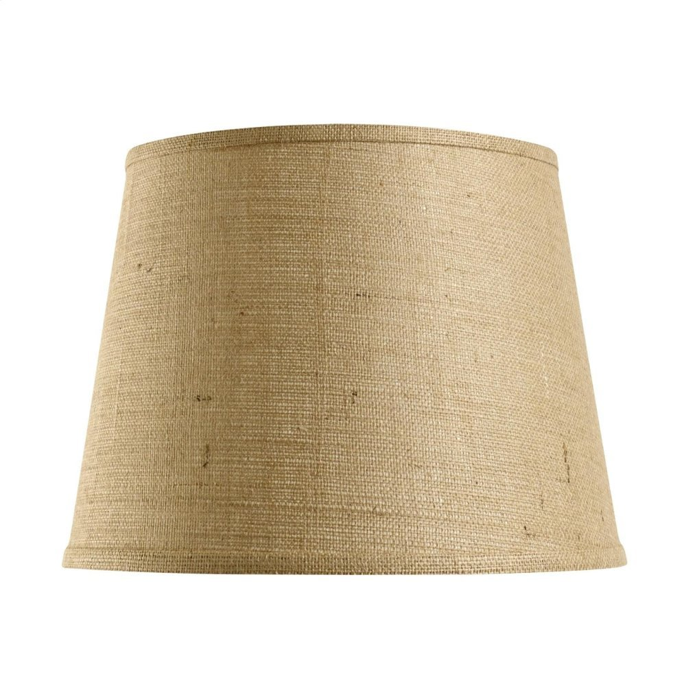 Shade 16-inch with Nickel, Burlap
