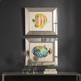 Aquarium Fish Framed Prints, S/2