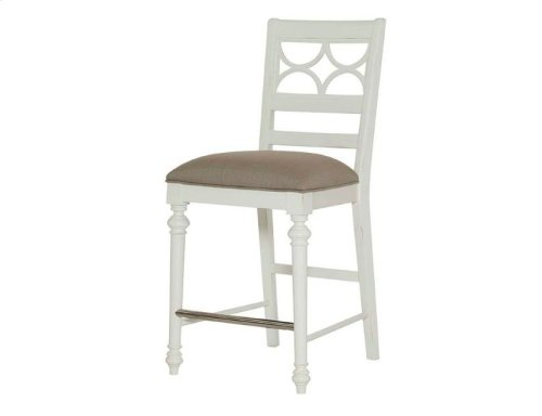 Fret Work Counter Stool