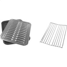 Premium Broil Pan & Roasting Rack