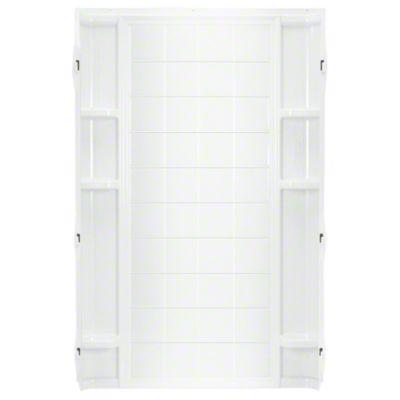 "Ensemble™ 36, Series 7210, 36"" x 72-1/2"" Tile Alcove Shower - Back Wall - White"