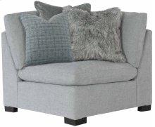 "Serenity Corner Chair (42-1/2"" D) in Mocha (751)"