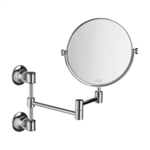 Chrome Montreux Pull-Out Shaving Mirror Product Image