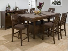 Caleb Counter Height Table Storage Base
