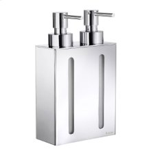 Soap Dispenser with 2 containers
