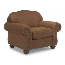 Bexley One-Tone Fabric Chair with Nailhead Trim