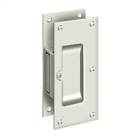 "Decorative pocket Lock 6"", Passage - Polished Nickel"