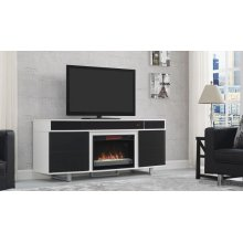 """This TV stand for TVs up to 80"""" and up to 155 lbs. is the perfect modern pi..."""