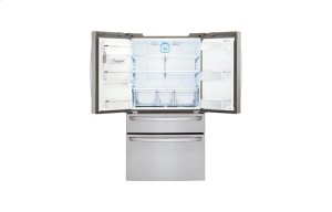 23 cu. ft. Large Capacity Counter-Depth French Door Refrigerator w/CustomChill® Drawer