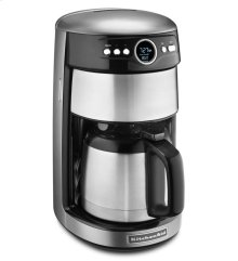 12-Cup Thermal Carafe Coffee Maker - Contour Silver