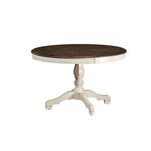 Hillsdale FurnitureBayberry / Embassy Round Dining Table - White
