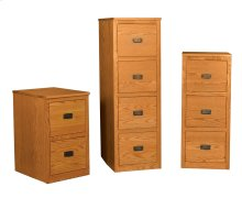 Prairie Mission 4-Drawer File Cabinet