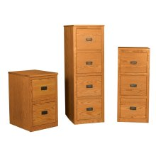 Prairie Mission 3-Drawer File Cabinet