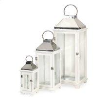 Martha Wood Lanterns - Set of 3