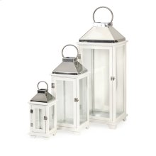 Martha Wood Lanterns - Set of 3