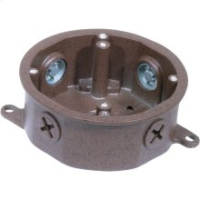 Die Cast Outdoor Electrical Junction Box in Old Bronze Finish