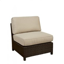 TILBURY OUTDOOR ARMLESS CHAIR
