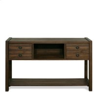 Perspectives Console Table Brushed Acacia finish Product Image