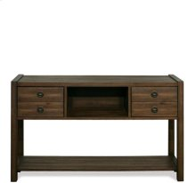 Perspectives Console Table Brushed Acacia finish