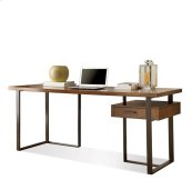 Terra Vista Return Desk Casual Walnut finish
