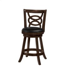 Traditional Espresso Counter-height Stool