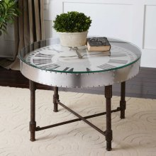 Cassem Clock Coffee Table